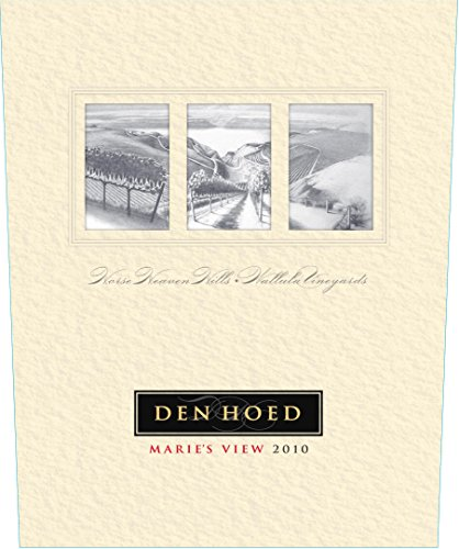 "2009 Den Hoed ""Marie'S View"" Red Blend Horse Heaven Hills Wallula Vineyard 750Ml"