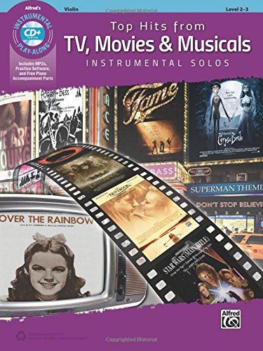 Top Hits from TV Movies & Musicals Violn (Top Hits Instrumental Solos)