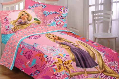 Tangled Letting Down My Hair Rapunzel Full Bedding Set front-707426