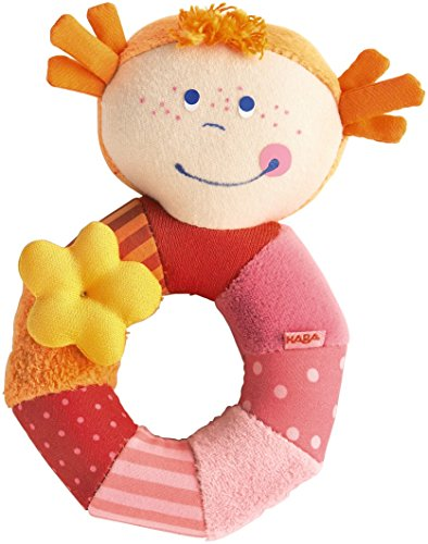 HABA Rosi Ringlet Clutching Toy