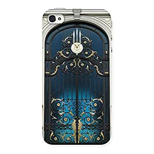 Royal Door Print Back Case Cover for iPhone 4 4s
