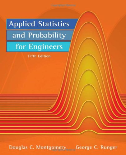 Applied Statistics and Probability for Engineers