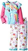 My Little Pony Little Girls' My Little Rainbow Pony Stars Pajama Set