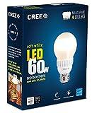 Cree 9.5-watt (60w) Soft White (2700k) LED A19 Light Bulb - Multi-pack 4 Bulbs