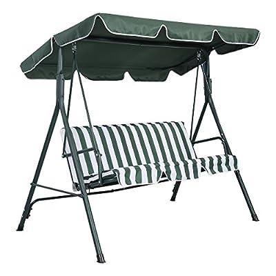 Hollywoodschaukel Schaukel Gartenschaukel Gartenliege Gartenbank 3-Sitzer von FDS auf Gartenmöbel von Du und Dein Garten
