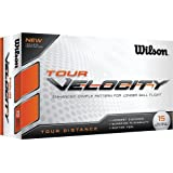Wilson Staff 2015 Tour Velocity Distance Golf Balls Multi Buy 15 Pack