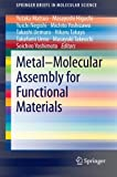 img - for Metal-Molecular Assembly for Functional Materials (SpringerBriefs in Molecular Science) book / textbook / text book