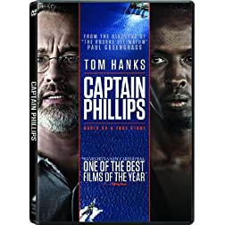 Captain Phillips (DVD + UltraViolet Digital Copy)