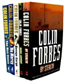 COLIN FORBES Colin Forebes Collection 5 Books Set RRP £35.95 (The Savage Gorge, The Main Chance, No Mercy, Double Jeopardy, By Stealth)