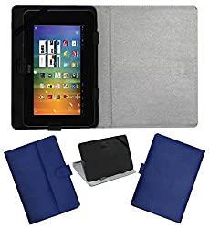 Acm Leather Flip Flap Case For Wishtel Ira Thing Cover Stand Blue