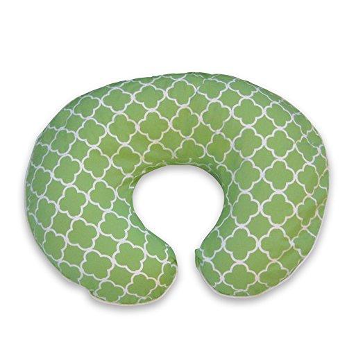 boppy-housse-doreiller-classic-plus-treillis-vert