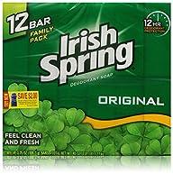 Irish Spring Bath Bar Soap, Original,…