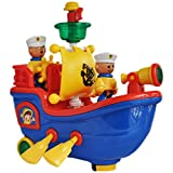 #8: Trinkets & More - Sailing and Rowing Boat with Lights and Music | Flash and Search Light | Fun Toys Kids 2 + Years