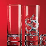 Red Series 17 oz.. Bubble Hiball Glass (Set of 4)
