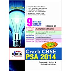 Crack CBSE-PSA 2014 Class 9 (Study Material + Fully Solved Exercises + 5 Model Papers) (Old Edition)
