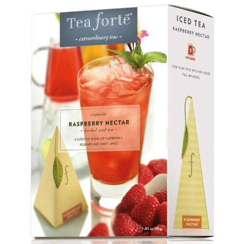 Raspberry Nectar by Tea Forte - Five Iced Teas