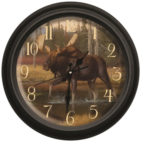 Reflective Art She's Not Worth it Classic Wall Clock, 16-Inch