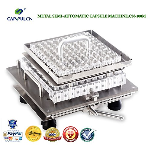 CapsulCN. A Semi-automatic Machine Help You with The Capsules, 100pcs one time, CN-100M (size 00) (Semi Automatic Capsule Machine compare prices)