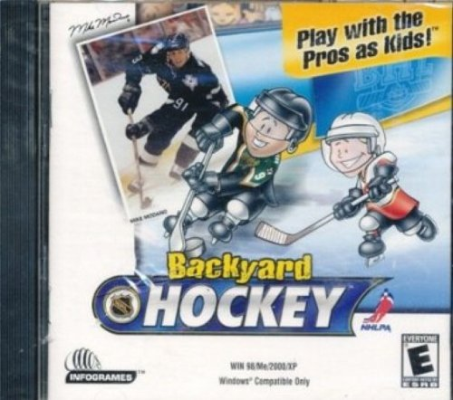 backyard hockey 2005 pc video games