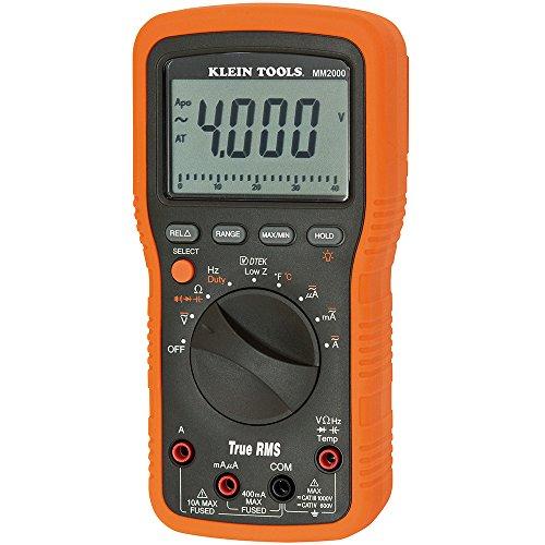 Klein Tools Mm2000 Electrician'S/Hvac Trms Multimeter