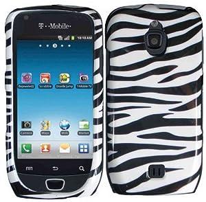 Zebra Hard Case Cover for Samsung Exhibit 4G T759