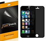 SUPERSHIELDZ- Privacy Anti-Spy Screen Protector Shield For iPhone 5S / iPhone 5C / iPhone 5 [2 Pack] + Lifetime Replacements Warranty – Retail Packaging Reviews