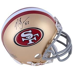 MOU 49ER NAVORRO BO AUT MINI HELMET NFL AUTEQPHEL - Memories - Mounted Memories... by Sports Memorabilia