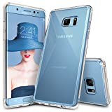 Galaxy Note 7 Case, Ringke [FUSION] Crystal Clear PC Back TPU Bumper [Drop Protection/Shock Absorption Technology] Raised Bezels Protective Cover For Samsung Galaxy Note 7 2016 - Crystal View