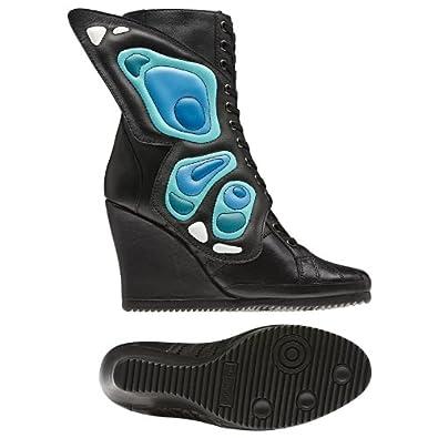 Adidas Jeremy Scott Women's JS Wings Wedge Shoes Boots-Black-6