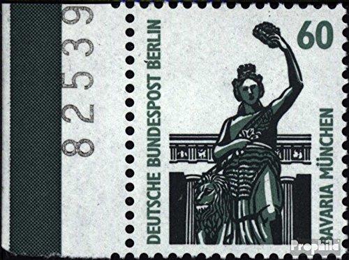 Berlin (West) 795A Seitenrandstück postfrisch 1987 Sehenswürdigkeiten (Briefmarken für Sammler)
