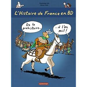 L'histoire de France… en BD : rigolo et très instructif !