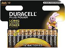 Comprar Pilas AAA Duracell Plus de 12 Pack