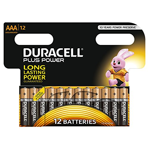 Duracell Plus Power Batteria Alcalina AAA 12 pezzi