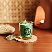 Resonance Meditation Candles - Heart Chakra Natural Wax Voltive Candle