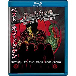 Dokken: Return to The East Live 2016 [Blu-ray]
