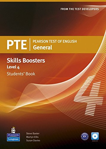 Pearson Test of English General Skills Booster 4 Students' Book and CDPack (Pearson Tests of English)