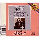 Bach: Concertos for Keyboard /Klavier & Strings Nos 1 2 3 4 5 & 7/Gould