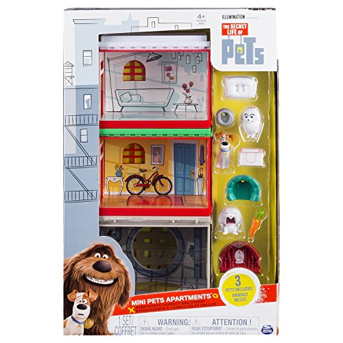 Secret Life Of Pets 6028099 - Pets Playset Mini Apartment