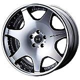 【トヨタ イスト(XP110系)2007~】 ホイール:WEDS マーベリック 607D_ブラックポリッシュ 7.5-18 5/100 タイヤ:FALKEN ZIEX ZE914F 225/40R18 (18インチ アルミホイールセット)