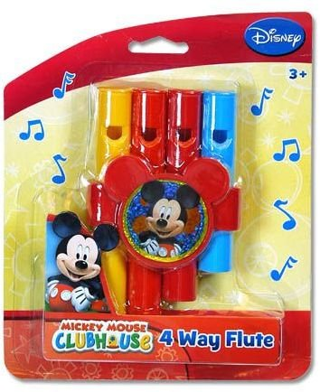 Disney Mickey Mouse 4 Way Musical Flute