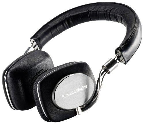 Bowers  &  Wilkins P5 Mobile On-Ear Headphones B & W - Black