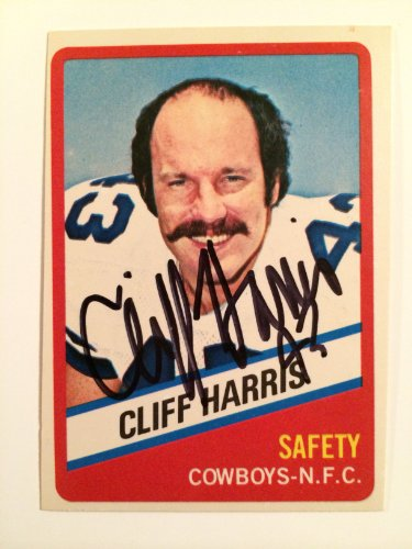 Cliff Harris Dallas Cowboys Ring of Honor 1976 Topps Wonder Bread #21 Signed Autograph Auto Trading Card at Amazon.com