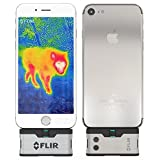 FLIR ONE IOS Thermal Imaging Camera for iPhone X , 8 , 7 / iPhone 7 Plus / iPhone SE / iPhone 6 / iPhone 6 Plus /iPhone 5 / iPhone 5s . WITH FREE FLIR POWERBANK!
