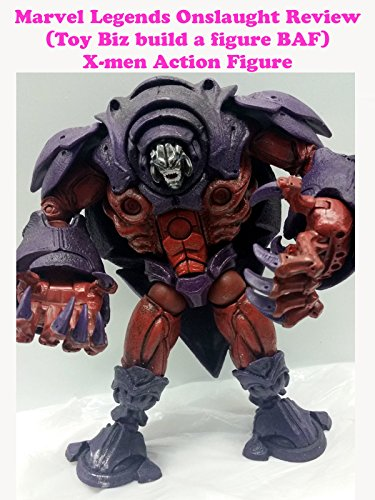 Marvel Legends ONSLAUGHT X-men review (Toy Biz build a figure BAF) action figure