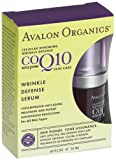 Avalon Organics CoQ10 Wrinkle Defense Serum, .55 -Ounce Bottle