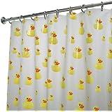 InterDesign Novelty EVA Shower Curtain, 72 x 72-Inch, Ducks