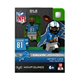 NFL Detroit Lions Calvin Johnson Figurine