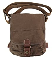 Gootium 21223 Cotton Canvas Cross Body Small Messenger Bag