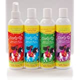 Curly Q's Hair Care Set (4pcs)- Detangler/moisturizer 8oz + Cleansing Cream 8oz + Conditioner 8oz + Moisturizing...
