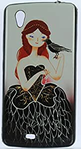 FCS Designer Silicon Back Case for Gionee Ctrl V4s With Printed Design